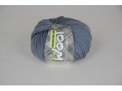 OmschrijvingBeoordelingen (0) Mc Wool Merino mix 100 Kleur : jeans blauw Bol : 50 gram / 100 meter Breinaald :4.5 - 5 Kwaliteit : 50% scheerwol -50% acryl Proeflapje 10cm x 10 cm : 18 steken x 24 rijen