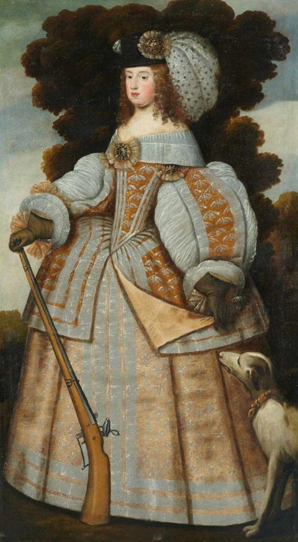 Infanta María Teresa de España, futura reina de Francia