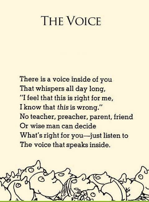 The Voice | Shel Silverstein