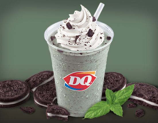 mint chocolate chip shake dairy queen |Dairy Queen Chocolate Shake
