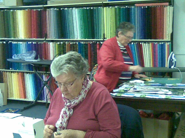 Patchwork Classes in the shop every Wednesday & Friday