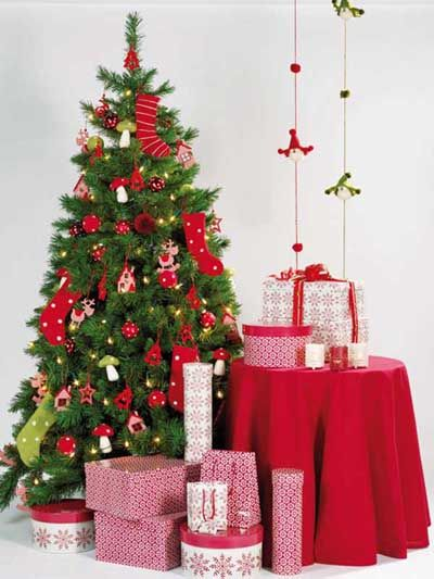 fotos e ideas para decorar el arbol de navidad 2012 2013 22