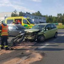 Vážná havárie u Borov