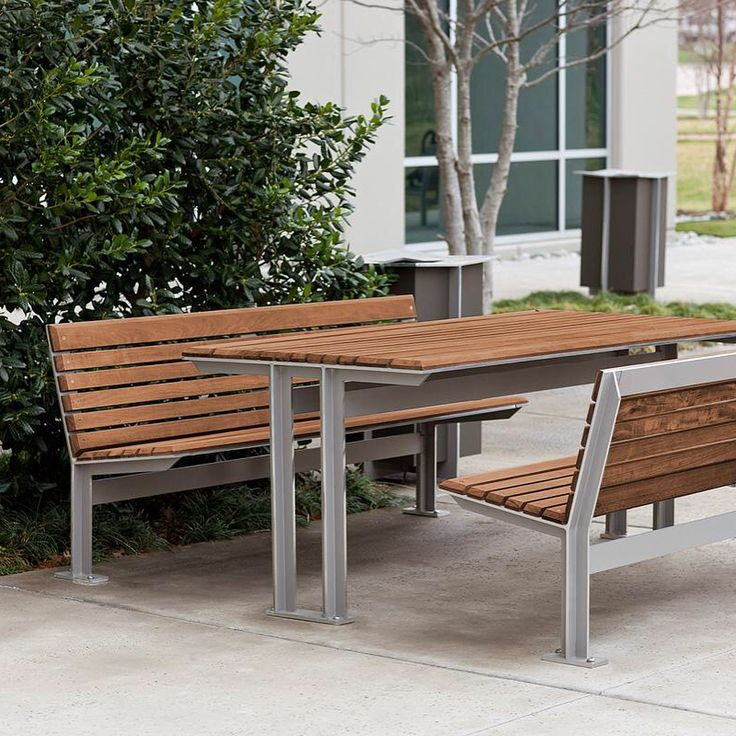 The Knight Family Offers Cohesive Site Furniture Solutions For Outdoor