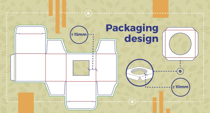 #Structural #packaging #design: #windowing and #holders. Some #guidelines to easy create cutting paths for windowing and holders.