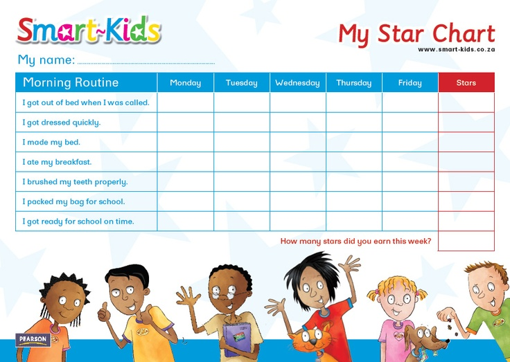 how to make a star chart for kids