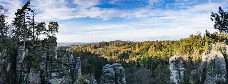 The Prachov Rock (Prachovské skály), Czechia - Prachovské skály, Vyhlídka Míru, 26.12. 2015 (The Prachov Rock)