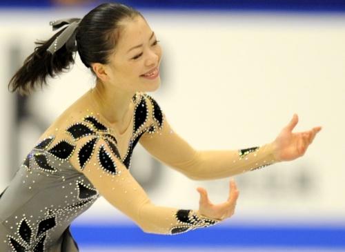 Akiko Suzuki, ISU Grand Prix of Figure Skating 2011/2012, NHK Trophy, SP