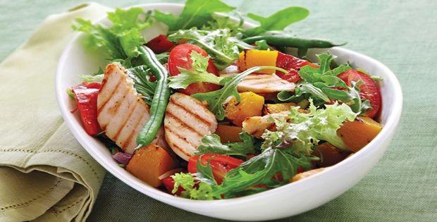 Ensalada de zanahoria – Verdura – Espinacas – Lechuga