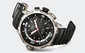 IWC Schaffhausen | International Watch Company | Collection | IWC Aquatimer | Aquatimer Deep Three