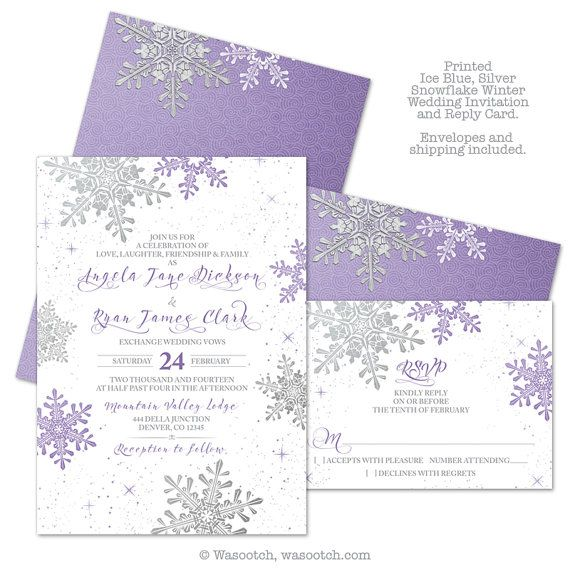 This Listing Is For Printed Invitations And Reply Cards Prices Include Priority Shipping Envelopes Multiple Paper Types To Choose From