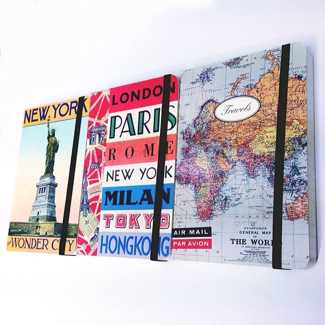 Wherever life takes you, don't forget to take a journal! #writing #notebook #travel