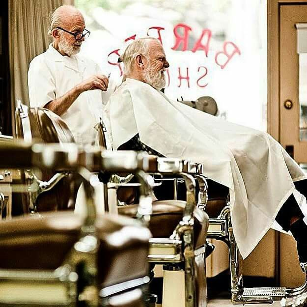 Old school barbers