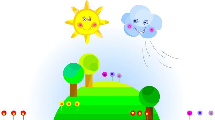 """l Vento e il Sole (Esopo). """"Un giorno il vento e il sole cominciarono a litigare. Il vento sosteneva di essere il più forte e a sua volta il sole diceva di essere la forza più grande della terra. Alla fine decisero di fare una prova..."""""""