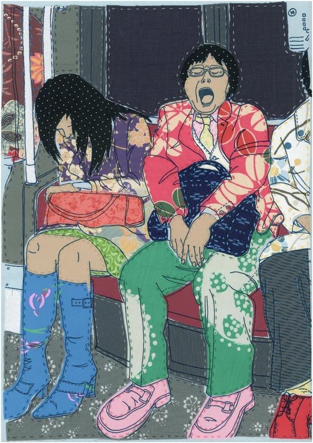 Laura MccaffertyTextiles Illustration, Laura Mccafferty, Mccafferty Textiles, Fab Textiles, Textiles Stitches, 10 Textiles, Textiles Artists, Gcse Textiles, Stitches Figures