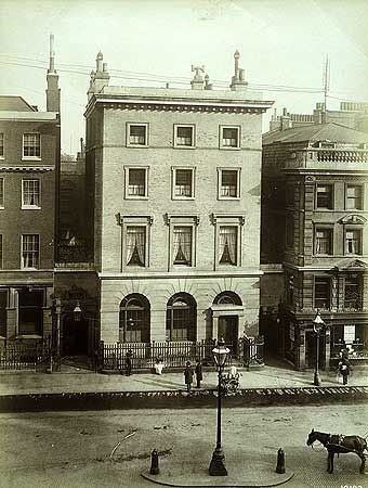 Twinings Bank, 215 Strand, Westminster, Greater London 1890