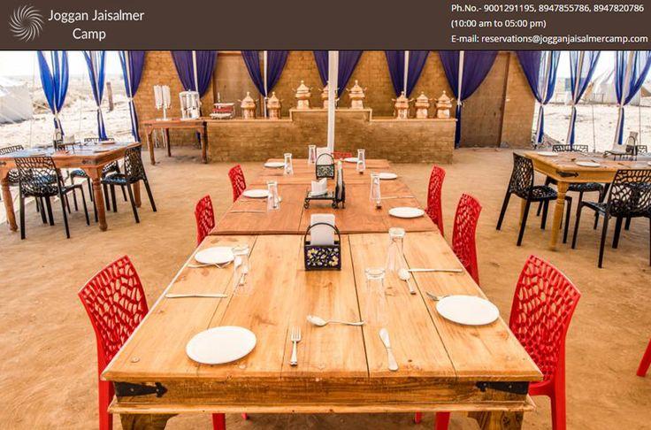 Get ready for Lunch in joggan Jaisalmer Camp Visit http://goo.gl/9T92gC