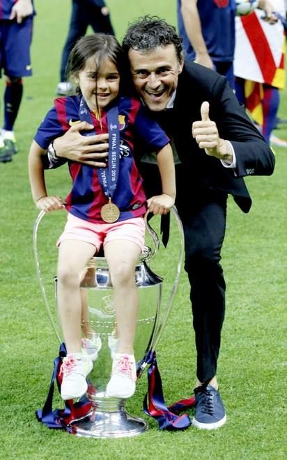Lucho and his daughter ♥