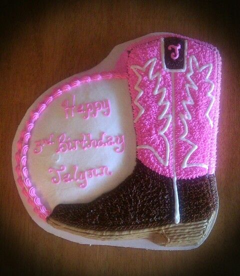 Cowgirl Boot Cake                                                                                                                                                                                 More