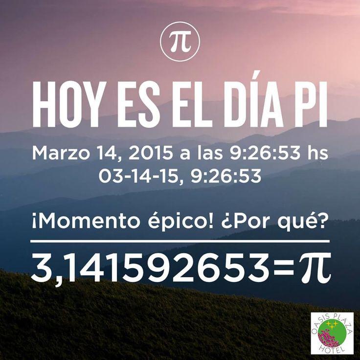 14 de Marzo de 2015                                       ¿Sabias que hoy es el día Pi? #PiDay #PiDay2015 #DiaPi