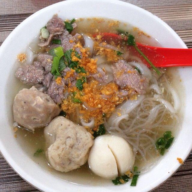 Bakso a favorite Indonesian food