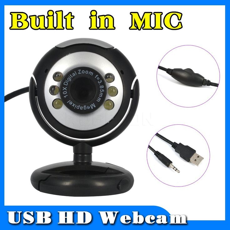 USB 2.0 50.0M 6 LED PC Camera HD Webcam Camera Web Cam with MIC for Computer PC Laptop //Price: $8.99 & FREE Shipping //     #hashtag3