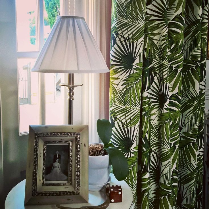 Tropica Home Decor Fabric A Great Weighted Fabric For Curtains Love How This Brightens