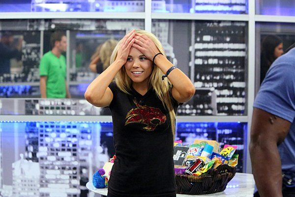 """Aaryn Gries, one of two contestants caught on camera making offensive remarks about gays and ethnic minorities on CBS' """"Big Brother."""""""