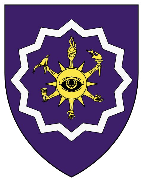 Coat-of-Arms of the Arcane University (World of Calliome)  Art by Axel Lofving