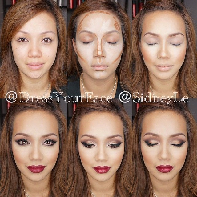 Contouring - Frame your face and highlight your features
