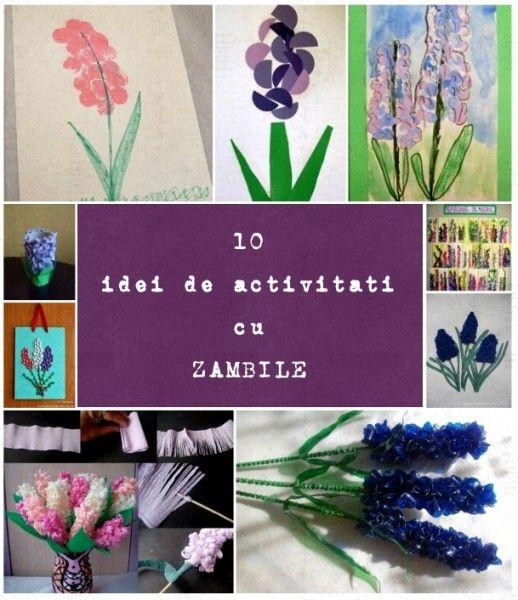 10 idei de activitati cu zambile