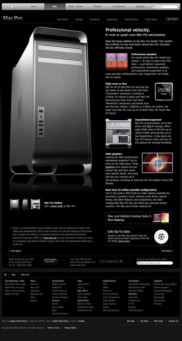 Apple - Mac Pro (11.10.2007)