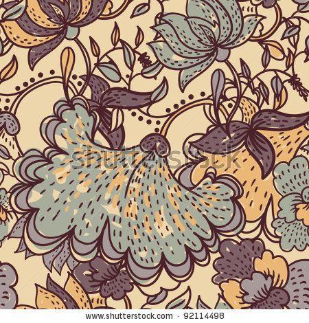 Vintage Textile Design 85