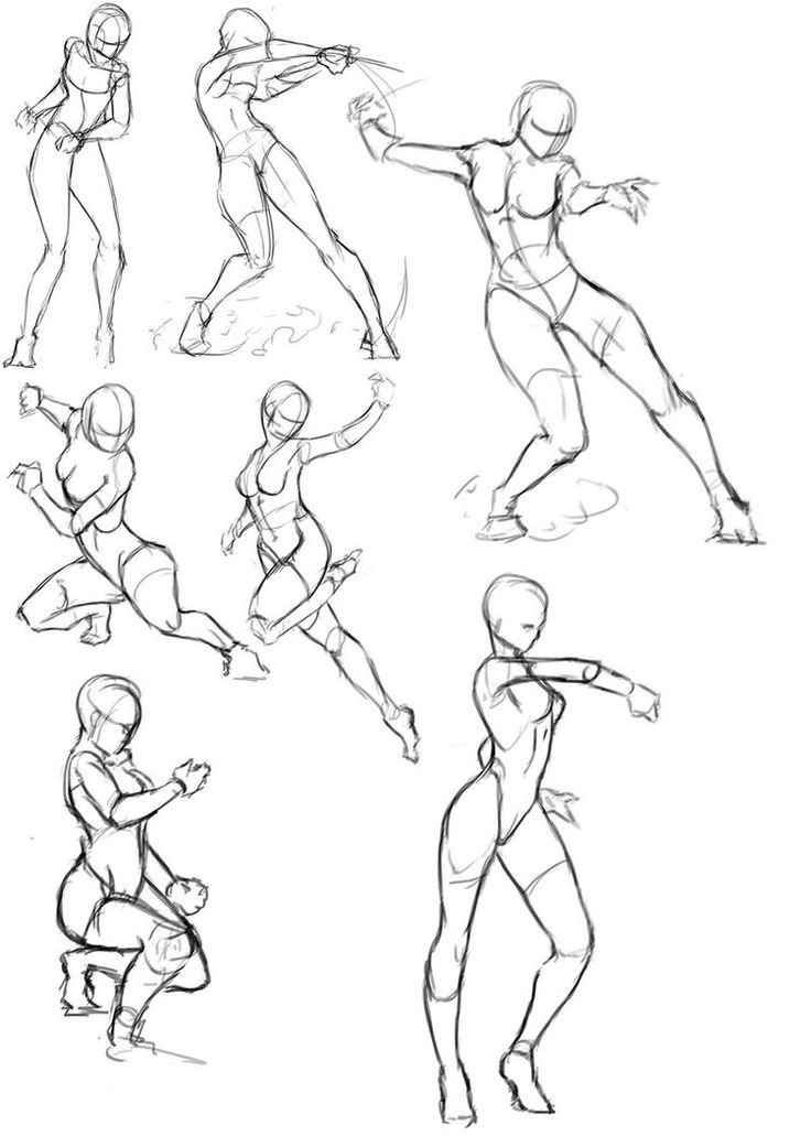 How to Practice Gesture Drawing: 9 Steps (with Pictures ...