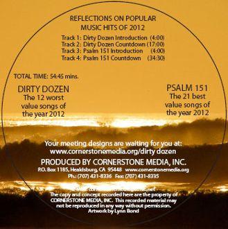 Dirty Dozen & Psalm 151 CD