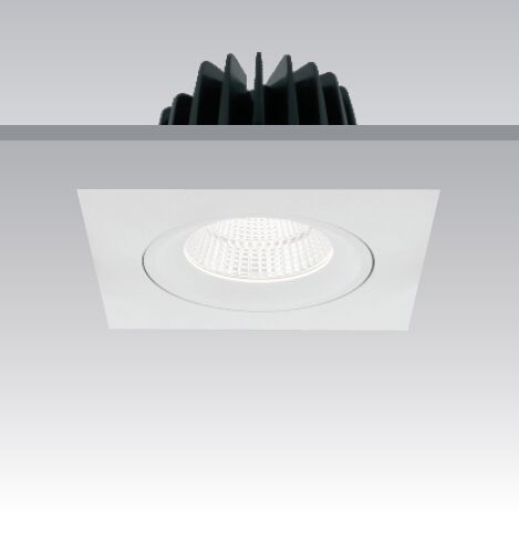 Square #Downlight  #Haneco #Lighting #LED #lights #commercial #office #home #decor #energyefficient #square