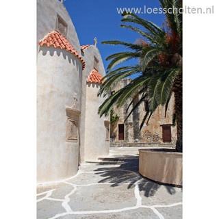 Greece, Crete, Preveli Monastery, Moni Piso Preveli