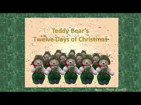 Teddy Bear's Twelve Days of Christmas from Bear Hugs Studio