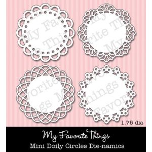 *My Favorite Things MINI DOILY CIRCLES Die-Namics MFT