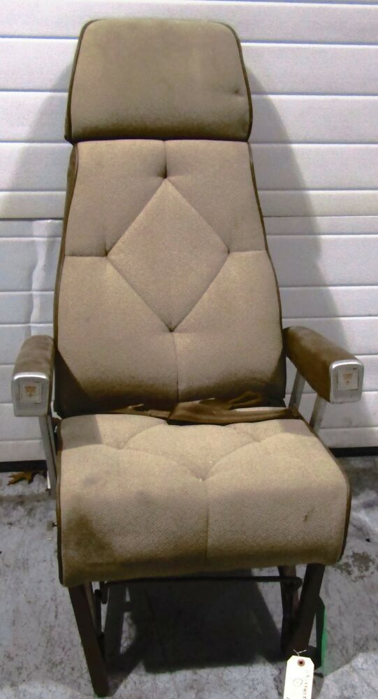 eBay #Sponsored Beech - Cabin Seat Assembly Tan Seat with Seat Belts