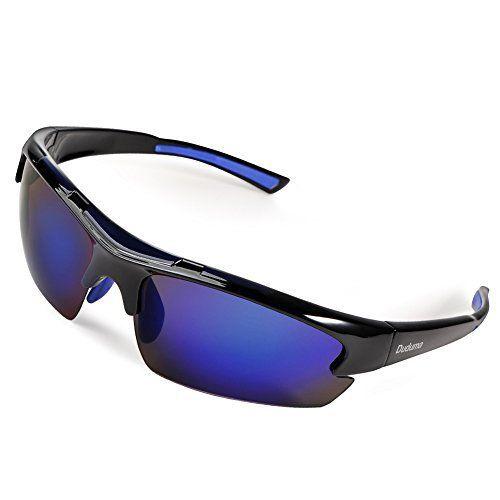 Duduma Lunettes de Soleil Polarisées Sports pour Ski Conduite Golf Cyclisme Conception du Cadre Tr62 Super Léger pour Hommes et Femmes:…