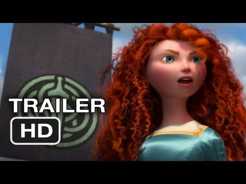 #Brave : the new princess from disney that have a strong heart and cut the rule of princess :)