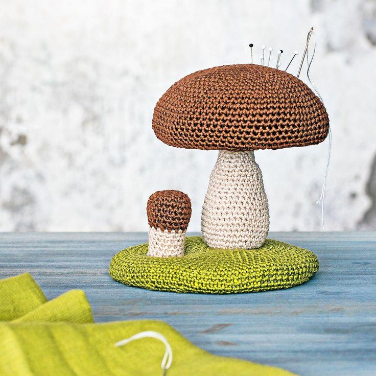 Näin teet sienineulatyynyn