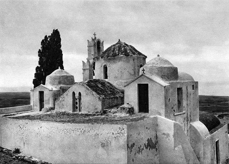 Σαντορίνη 1928 Παναγιά η Επισκοπή