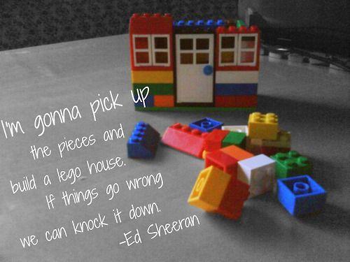 lego, house, ed sheeran, lyric, black