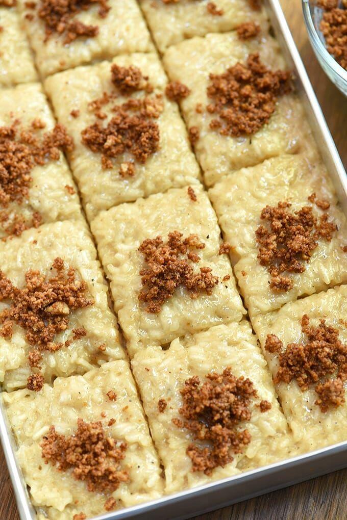 Biko   Recipe   Rice desserts, Filipino desserts, Desserts