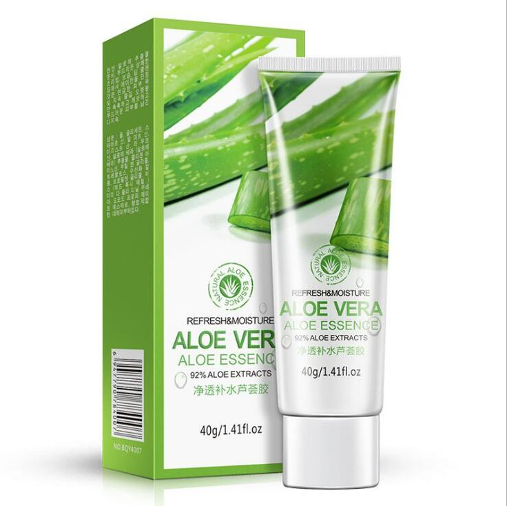 2016 Powerful Aloe Vera Gel Clear And Hydrating Oil-control Moisturizing To Blackhead Contraction Pore Sunburnt Face Care