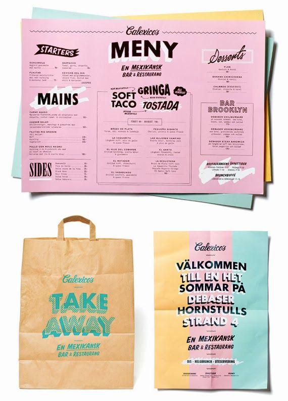 El arte de diseñar menús