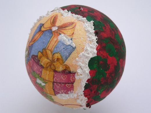 Bile (globuri) decor din material polistiren model 5