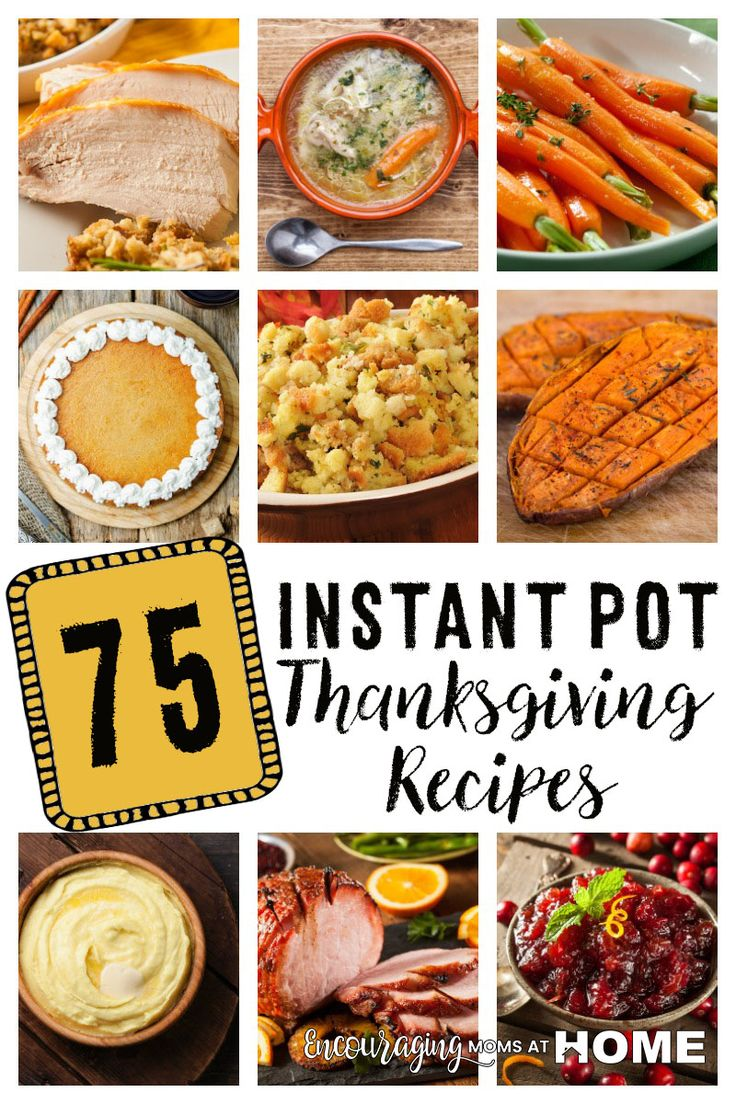 Wondering how you can use your Instant Pot for Thanksgiving? We've found 74 Instant Pot Thanksgiving Recipes in every category from IP Turkey to Instant Pot Cranberry Sauce! You can do it!
